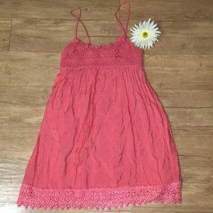 Peach colored Beautiful Love Culture dress/tunic